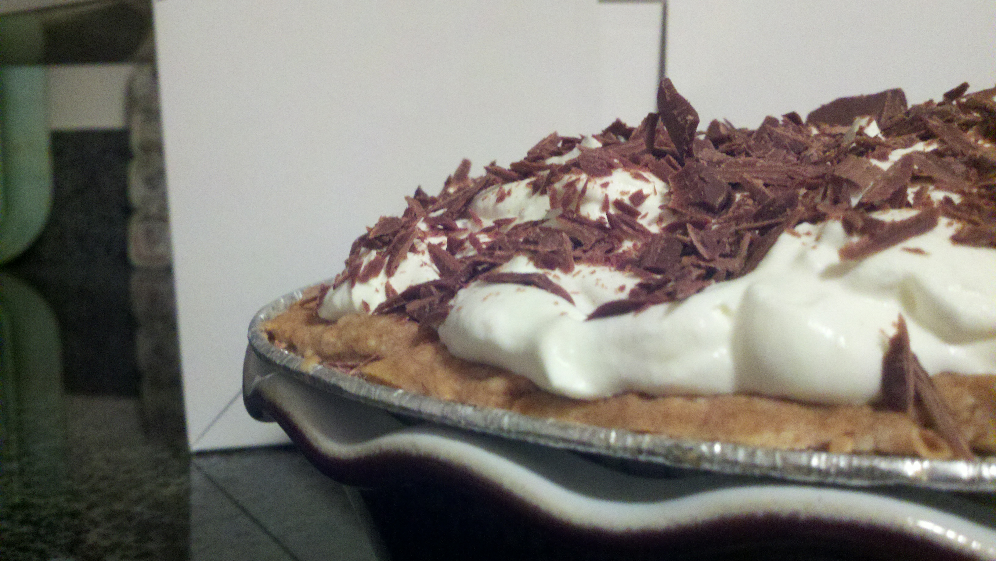 Chocolate Cream Pie Recipe — Dishmaps