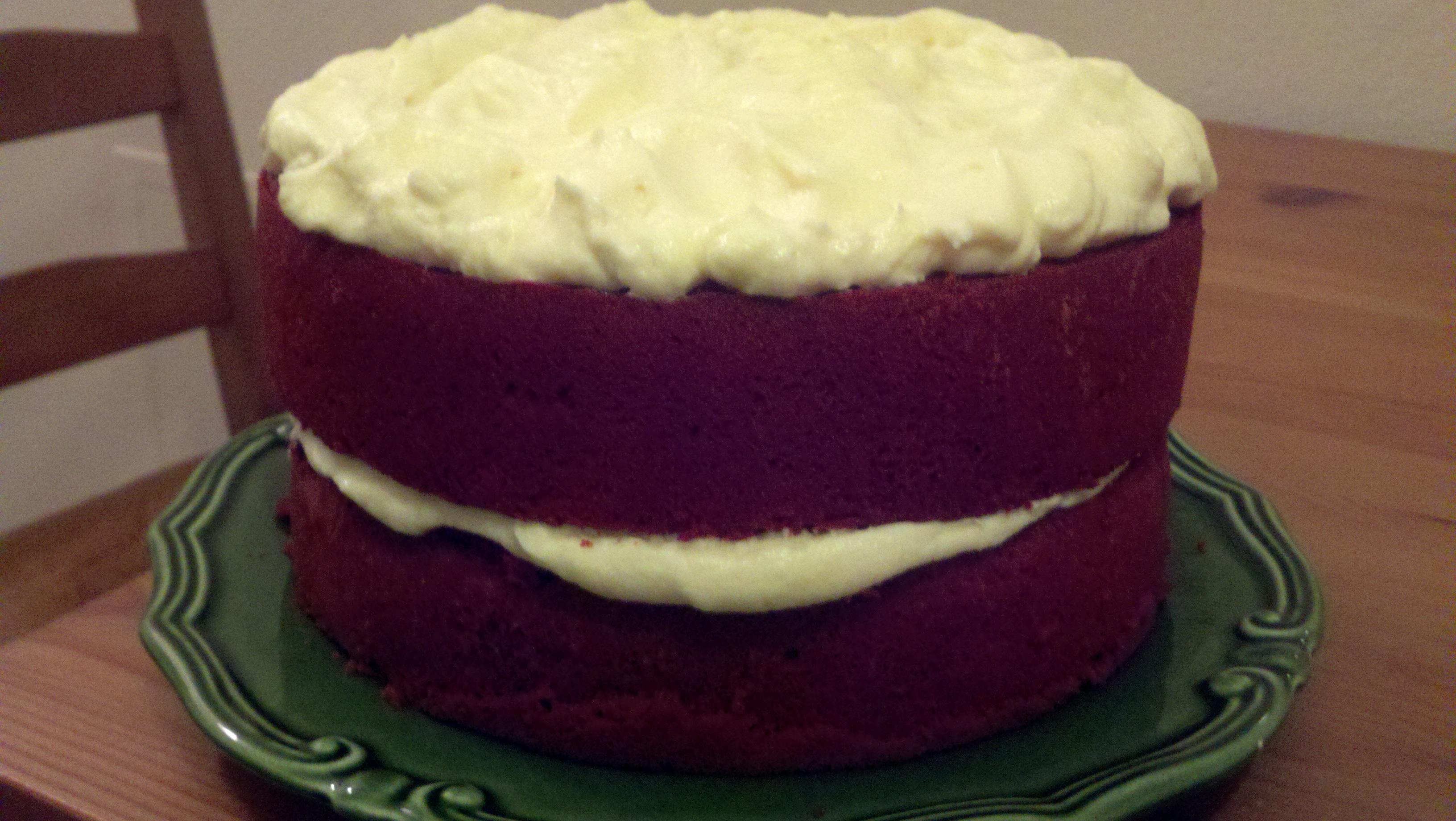 Red Velvet Cake Recipe Cream Cheese Frosting Cake Boss