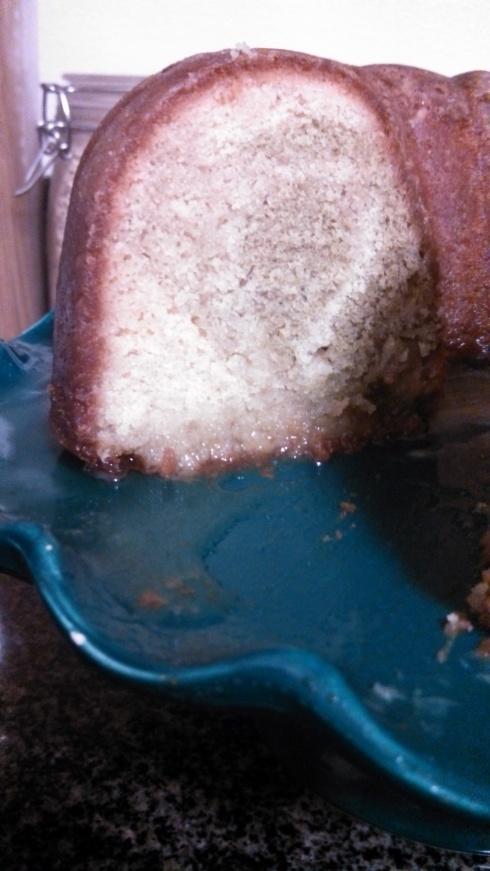 Honeysuckle Green Tea Cake 2