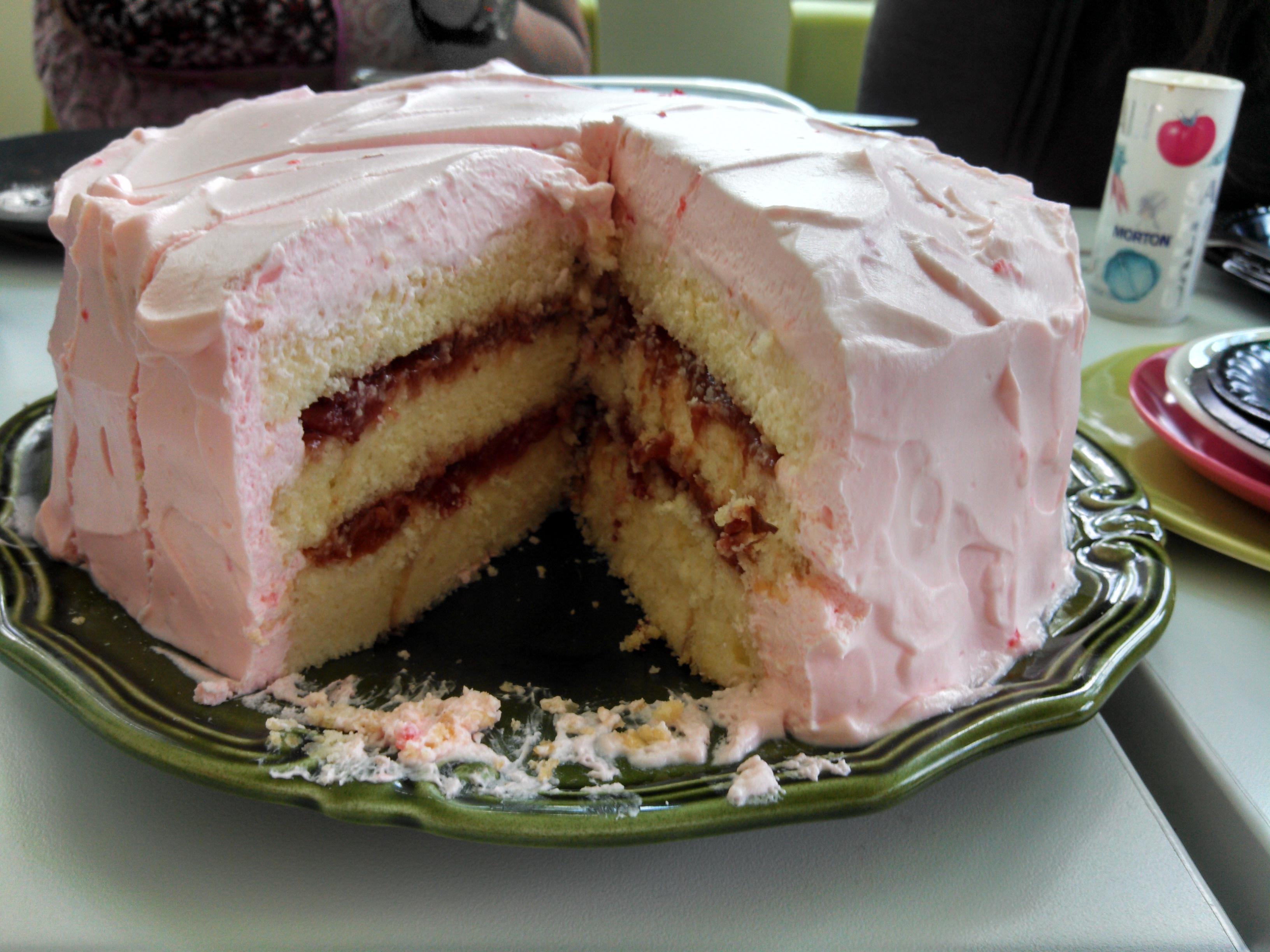 Strawberries and Cream Cake 2