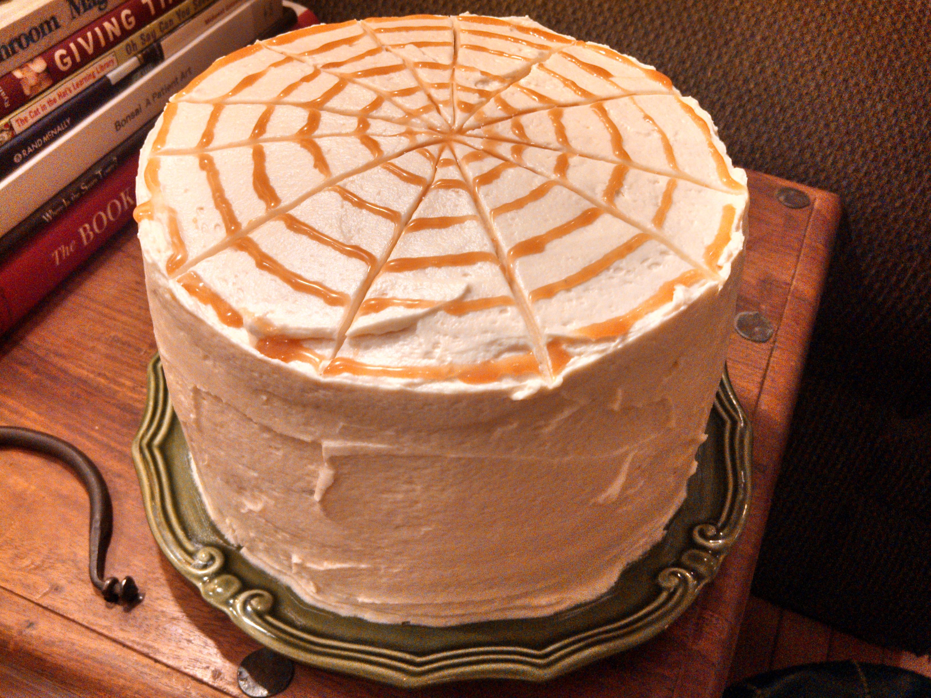 Caramel Apple Cake w/ Caramel Buttercream… | Em's Cakes and ...