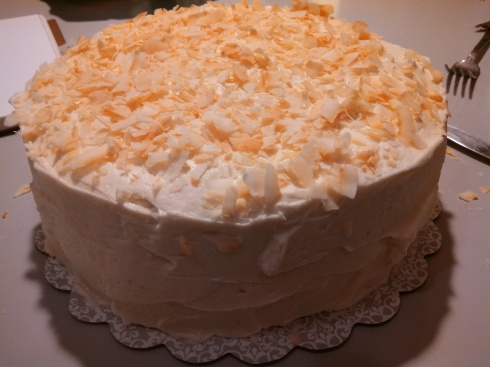 Carrot Cake w Brown Butter Cream Cheese Frosting