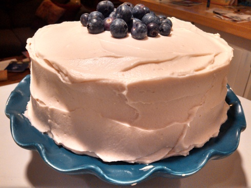 Chocolate Cake w Berry Mascarpone