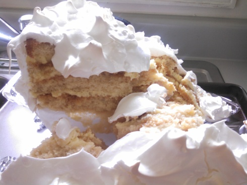 Lemon Meringue Cake 2