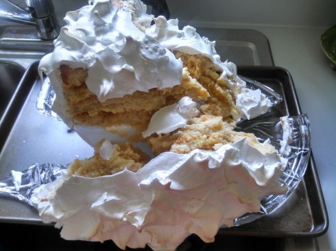 Lemon Meringue Cake 3