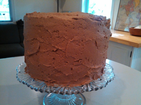 Chocolate Espresso Cake1