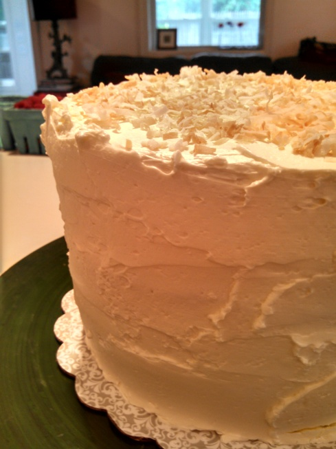 Coconut Cake w Coconut Buttercream