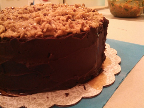 Bourbon Chocolate Cake 2