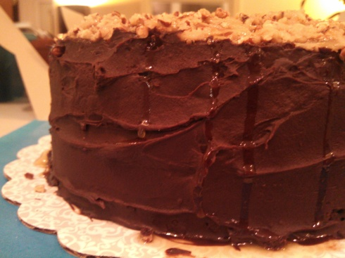 Bourbon Chocolate Cake1